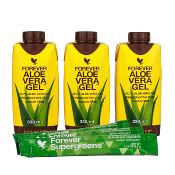 Mini Tripack 330ml AVG & Forever Supergreens